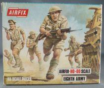 Airfix 72° S9 2ème G.M. Anglais 8ème Armée Boite Type 3 (Neuve)