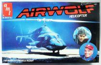 Airwolf - 1:48 Scale model kit - AMT ERTL