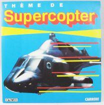 Airwolf (Supercopter) - Record Mini-LP - Original TV Series Soundtrack - Carrere 1987