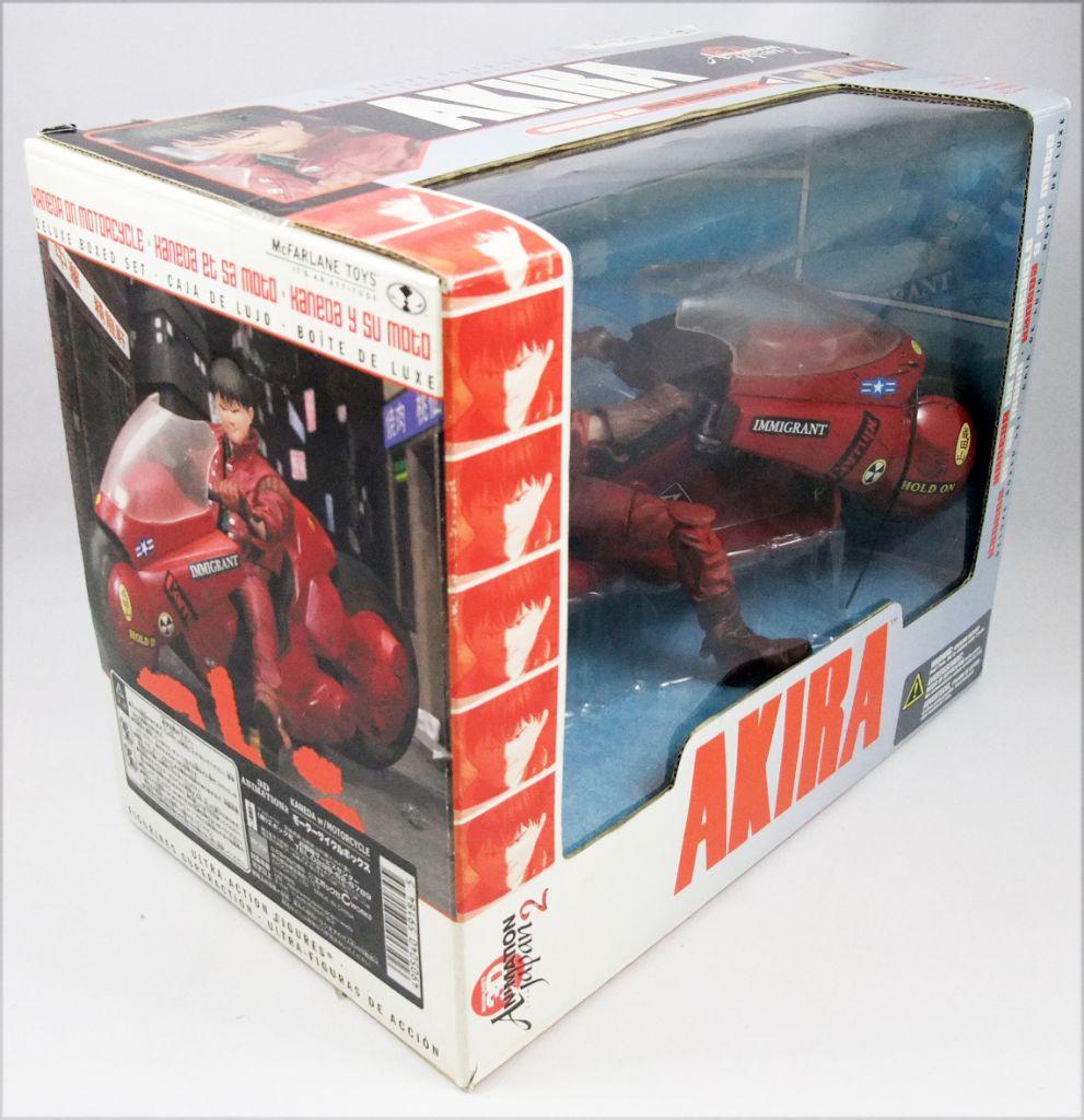 "Akira - McFarlane Toys - Coffret \""Kaneda et sa moto\"""