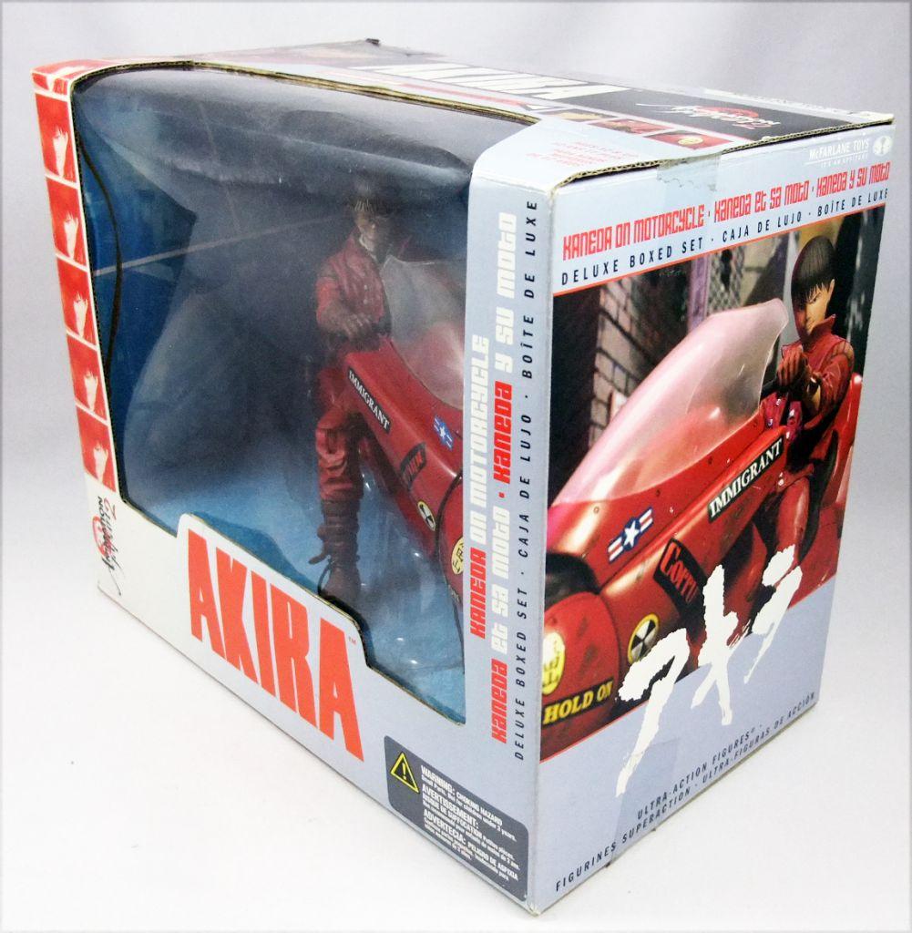 Akira - McFarlane Toys - Kaneda on Motorbike boxed set