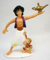 Aladdin - Figurine PVC Mattel - Aladdin & Abu