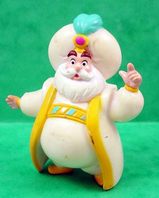 Aladdin - Figurine PVC Mattel - Le Sultan