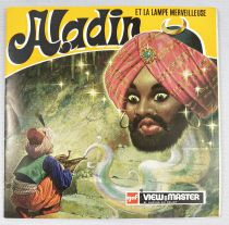 Aladdin - View-Master (GAF) - Set of 3 discs (21 Stereo Pictures) with booklet