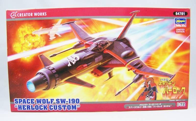 """Albator - Hasegawa Hobby Kit - Space Wolf SW-190 """"Herlock ..."""