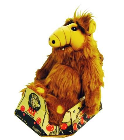 ALF - 18 inches Plush - Coleco (mint in box)