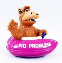 ALF - Figurine pvc Bully - Alf en bateau mauve