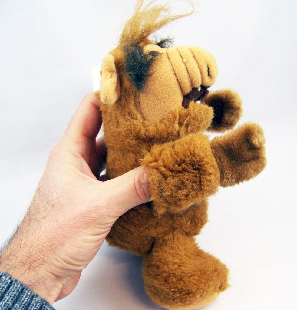 ALF - Peluche 20cm (Marionnette à doigts) - Coleco 1987