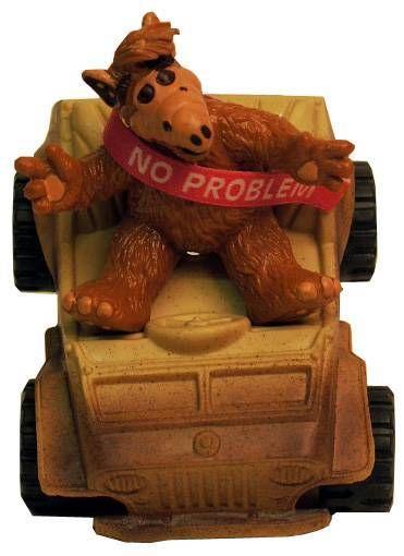 ALF - Pvc figure Bully - Jeep