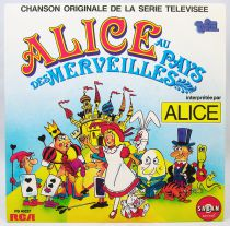 Alice in Wonderland - Mini-LP Book-Record - TV Series Original Soundtrack - Saban Records 1985