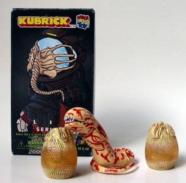 Alien - Medicom Kubrick Alien Series 2 - Chestburster with eggchamber