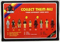 Alien - ReAction - USCSS Nostromo action-figure set : Kane, Ripley & Ash