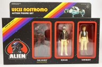 Alien - ReAction - USCSS Nostromo action-figure set : The Alien, Dallas & Lambert