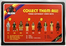 Alien - ReAction - USCSS Nostromo action-figure set : The Alien, Parker & Brett