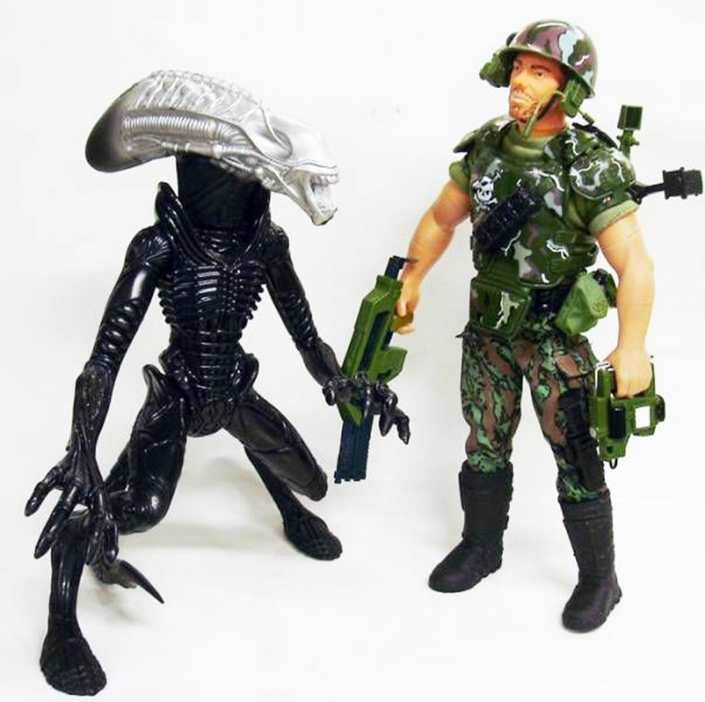Aliens - Hasbro - Alien vs Corp. Hicks