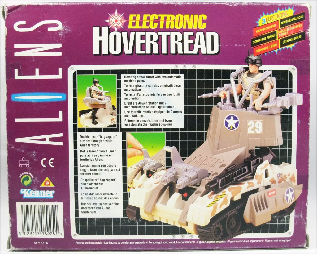 Aliens - Kenner - Electronic Hovertread Vehicle