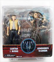 Aliens - NECA - Carter J. Burke & Xenomorph Warrior