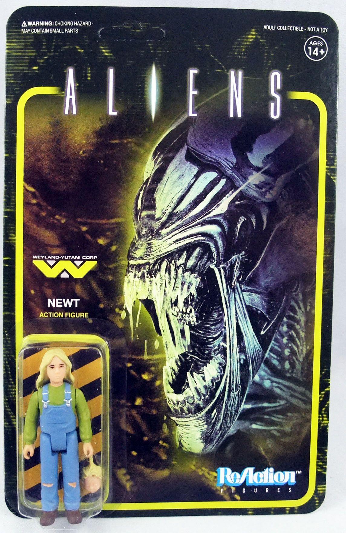 Aliens - ReAction - Newt
