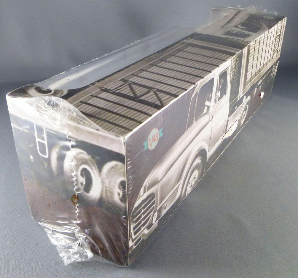 Altaya Ixo Camion Berliet TLR 10M 1953-1957 Remorque Interflora 1/43 Neuf Boite