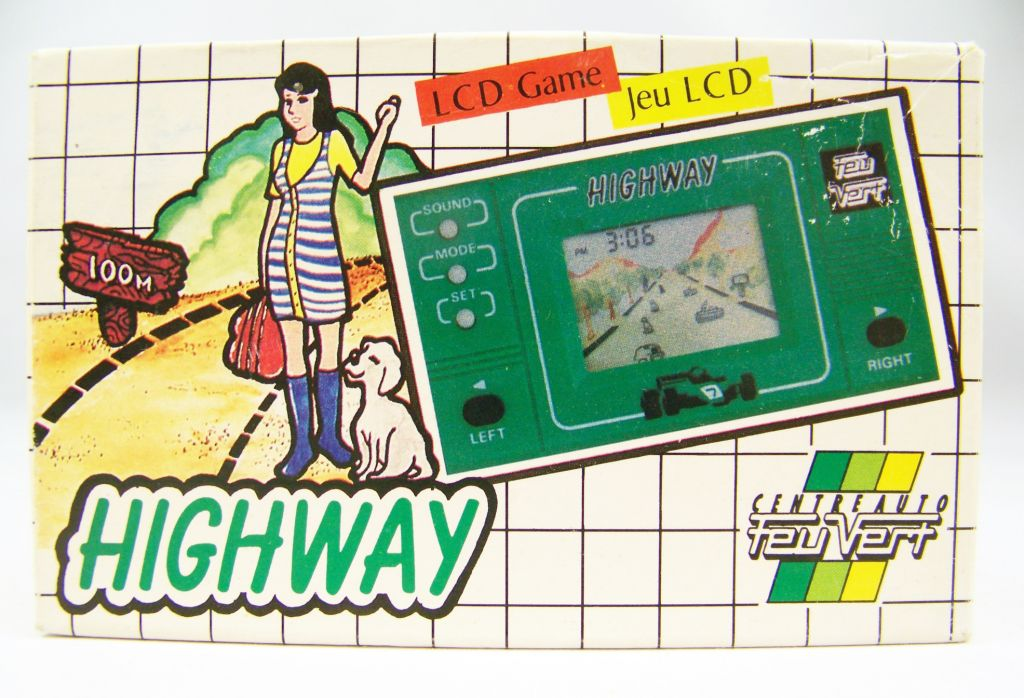 Altic LCD Game (Centre Auto Feu Vert) - Handheld Game & Watch - Highway 01