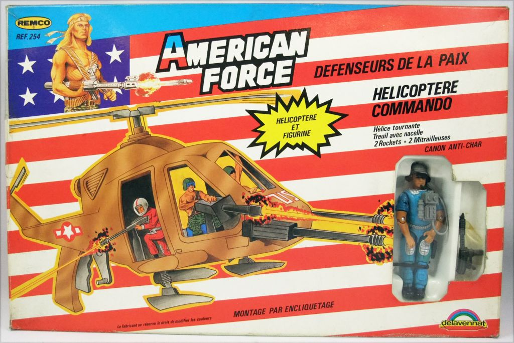 American Defense - Remco Delavennat - Command Chopper with Officer Airborne