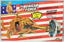 American Force - Remco Delavennat - Hélicoptère Commando avec pilote Officer Airborne