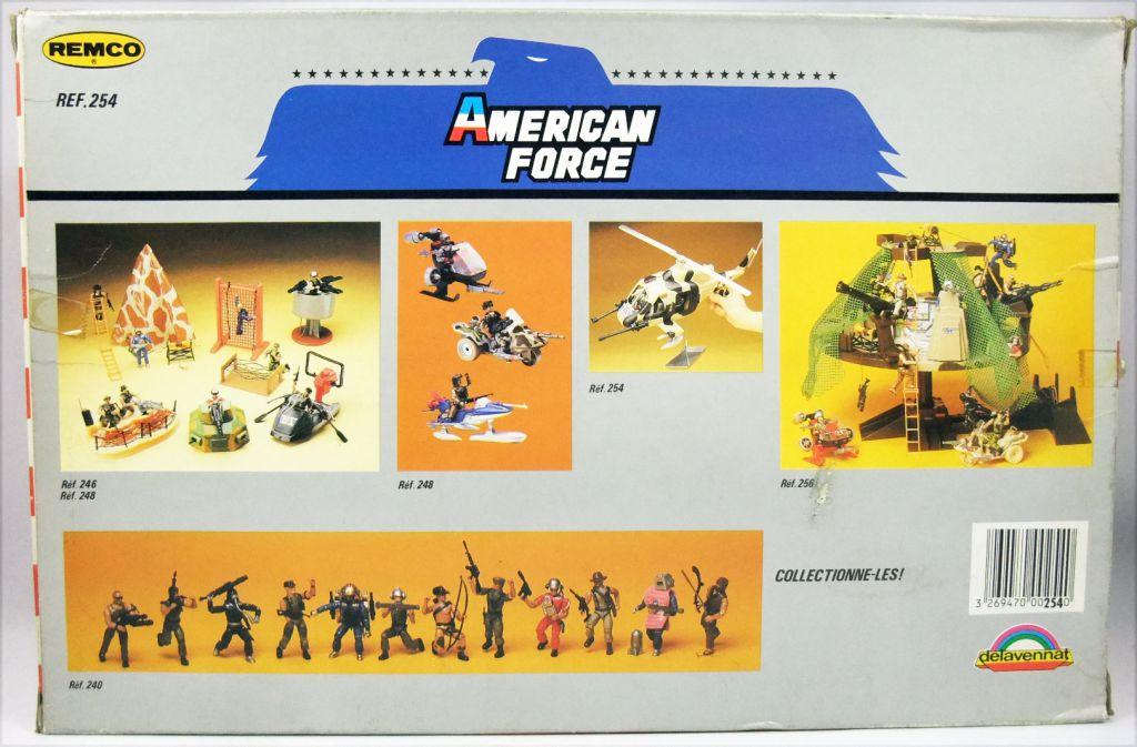 American Force - Remco Delavennat - Hélicoptère Commando avec pilote Officer Airborne