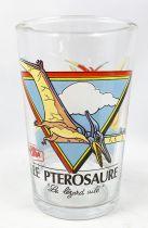 """Amora (verre à moutard) - Série Dinosuares - Le Ptérosaure \""""Le Lézard ailé\"""""""