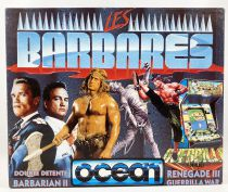 Amstrad CPC - Les Barbares (Ocean 1988) - 464/664/6128 Disk