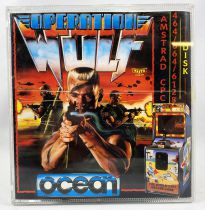 Amstrad CPC - Operation Wolf (Ocean 1988) - Disquette 464/664/6128