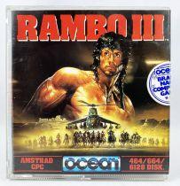 Amstrad CPC - Rambo III (Ocean 1988) - 464/664/6128 Disk