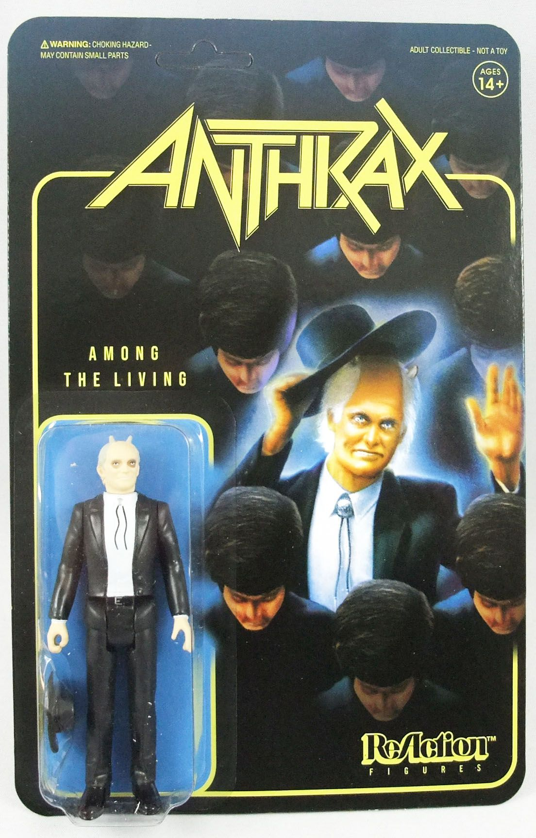 Anthrax - ReAction Super7 Figure - Among The Living