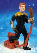 "Applause - Star Trek Deep Space Nine - Chief Miles O\'Brien - 4"" pvc figure"