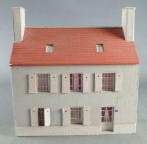 Architecture & Passion 87VIL2xx Ho Maison de Ville Toiture Tuiles Bas Relief Fond de Décor