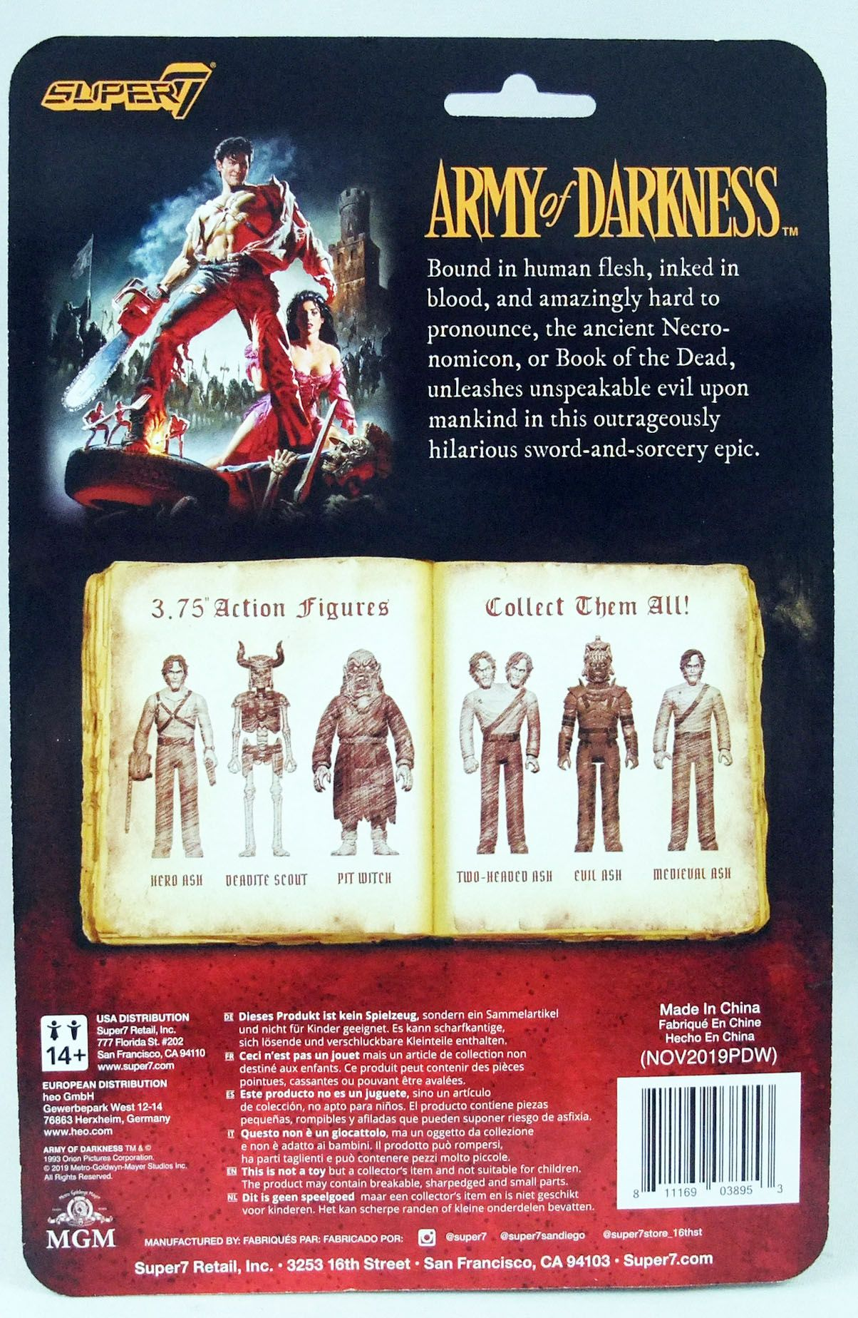 Army of Darkness - Super7 - Deadite Scout - ReAction figure