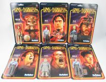 Army of Darkness - Super7 - Set de 6 figurines ReAction