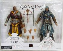 Assassin\'s Creed - Ezio Auditore Florentine Scarlet & Caspian Teal - Figurines Player Select NECA