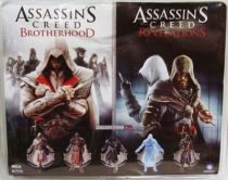 Assassin\'s Creed - Ezio Auditore Florentine Scarlet & Caspian Teal - Figurines Player Select NECA