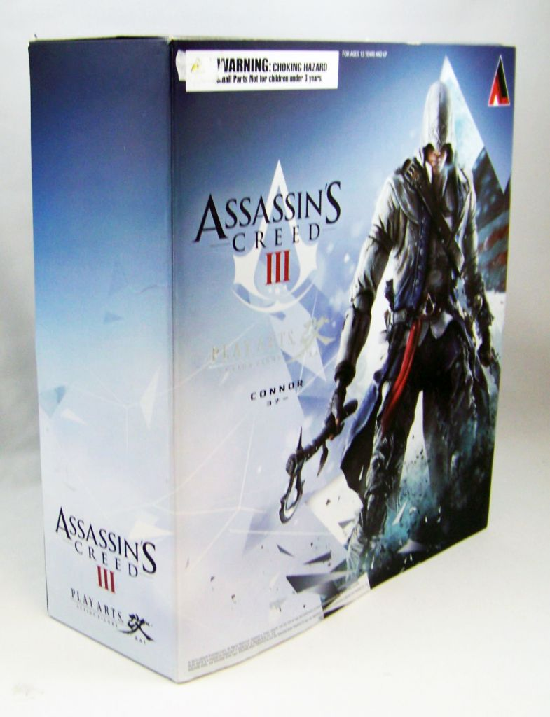 Assassin\'s Creed 3 - Connor - Figurine Play Arts Kai - Square Enix 02