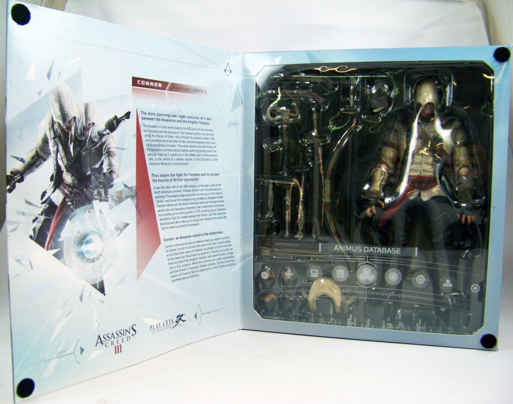 Assassin\'s Creed 3 - Connor - Figurine Play Arts Kai - Square Enix 04
