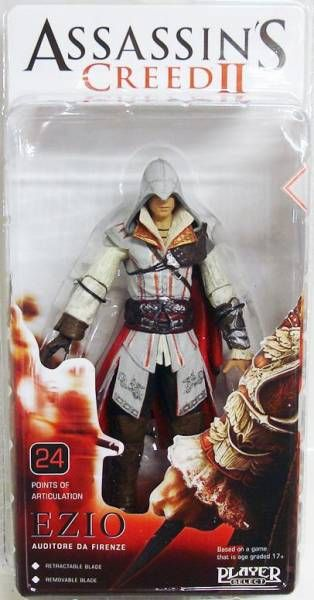 Assassin S Creed Ii Ezio Auditore Da Firenze Neca Player Select Figure