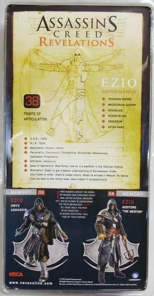 Assassin\'s Creed Revelations - Ezio Auditore The Mentor - Figurine Player Select NECA