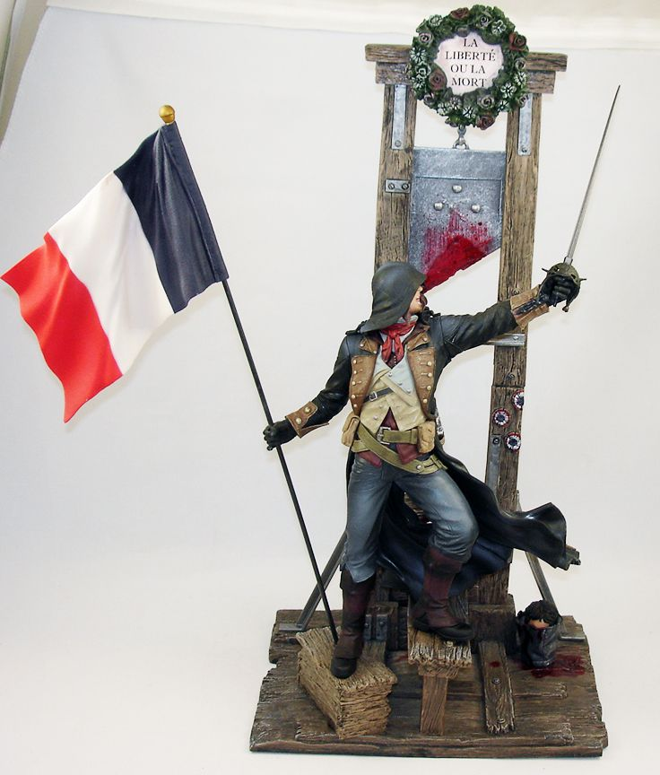 Assassin S Creed Unity Arno Dorian Guillotine Edition Collector Set
