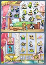 """Asterix - \""""The Gauls\"""" & \""""The Romans\"""" Pins Collector - Editions Atlas Collections 2006"""