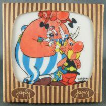 Asterix - 4 Carreaux Carrelage Mural Plastique Japy Voluform - Neuf Boite