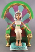 Asterix - Atlas Plastoy - Figurine Résine - Cléopatre sur son trone