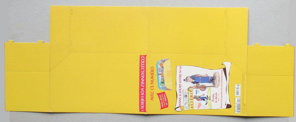 Asterix - Atlas Plastoy - Figurine Résine - Décor Carton Le Camp Romain