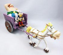 Asterix - Atlas Plastoy - Figurine Résine - La charette d\'Asterix & Obélix (Exclusive)