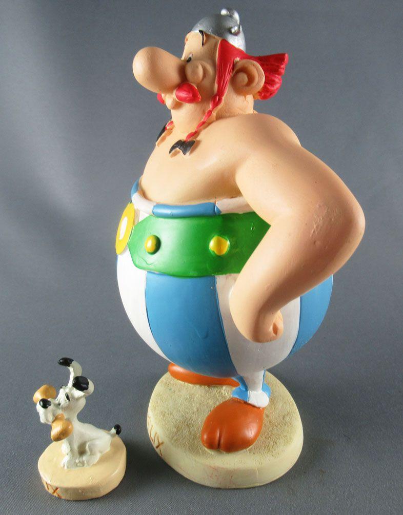 Asterix - Atlas Plastoy - Figurine Résine - Obélix & idéfix