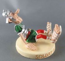 Asterix - Atlas Plastoy - Figurine Résine - Soldat romain \'\'abimé\'\'